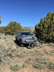 The motorized and un-motorized vehicles ideal for our kind of camping.
